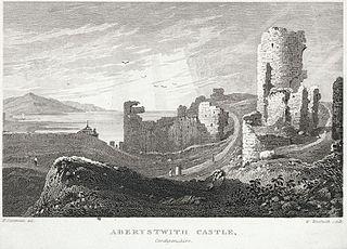Aberystwith Castle, Cardiganshire