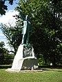 Abraham Lincoln Statue, Rosemond Grove Cemetery, Rosamond, IL.jpg