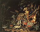 Abraham Mignon - Game, Fish, and a Nest on a Forest Floor - c. 1675.jpg