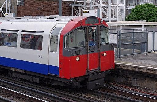 Acton Town tube station MMB 05 1973 Stock