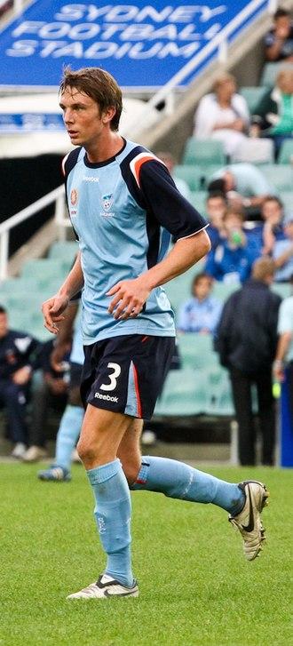 Adam Biddle (footballer) - Adam Biddle playing for the Sydney FC Youth team