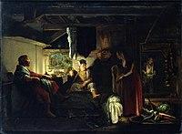 Adam Elsheimer - Jupiter and Mercury in the House of Philemon and Baucis.jpg