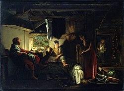 Adam Elsheimer: Jupiter and Mercury at Philemon and Baucis