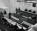 Adolf Eichmann is sentenced to death at the conclusion of the Eichmann Trial USHMM 65289.jpg
