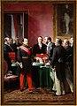Adolphe Yvon - Haussmann présente à l'Empereur le plan d'annexion des Communes.jpg