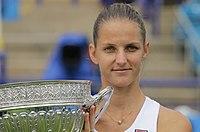 Aegon International Women's Final 2017 Pliscova v Wozniacki-949 (35714112036).jpg