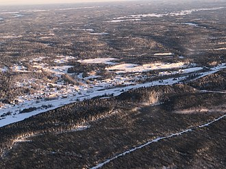 Armstrong, Ontario - Aerial View of Armstrong