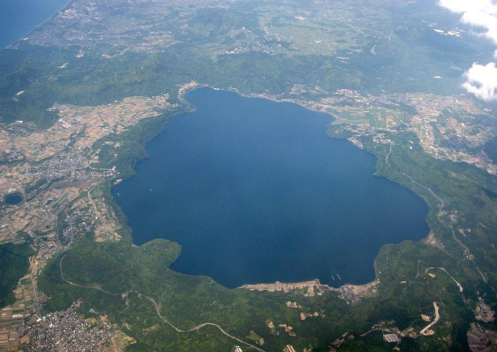 Aerial Photo of Ikedako