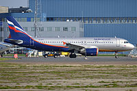 VQ-BKS - A320 - Aeroflot