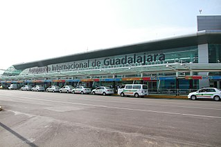 Miguel Hidalgo y Costilla Guadalajara International Airport commercial airport that serves Guadalajara, Jalisco, Mexico