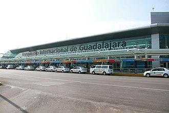 Miguel Hidalgo y Costilla Guadalajara International Airport - GDL Airport Front View