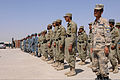 Afghan Local Police (ALP), Afghan National Police and Afghan Border Police officers stand in formation during an ALP graduation ceremony at the regional ALP training center in the Lashkar Gah district, Helmand 130606-A-RI362-029.jpg