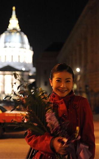 Yuanyuan Tan - Yuan Yuan Tan after diving into Lilacs.