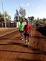 After training hill work ,1000 m Kampala.jpg