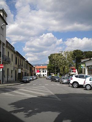 Agliana - A street in Agliana