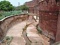Agra Fort - Wall and Waterway.jpg