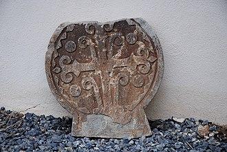 Ahaxe-Alciette-Bascassan - Image: Ahaxe Stele
