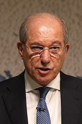 Organisation for the Prohibition of Chemical Weapons - Ahmet Üzümcü, former Director-General of the OPCW