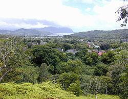 Ahuimanu looking towards Kaneohe Bay