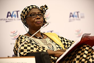 Isatou Touray - Image: Aid for Trade Global Review 2017 – Day 2 (35489505090)
