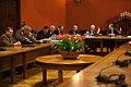 Ainara Latkovska un Aizsardzības, iekšlietu un korupcijas novēršanas komisijas deputātu tikšanās ar Ungārijas aizsardzības ministru (8389718738).jpg