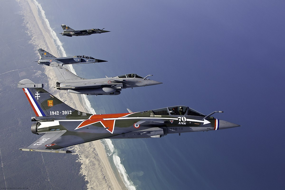 File:Air-to-air with French Air Force Dassault Rafale and Mirage F1.jpg - Wikimedia Commons
