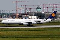 D-AIFF - A340 - Lufthansa