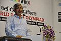 Ajoy Kumar Ray Addresses - Inaugural Session - Indian National Championship - WRO - Kolkata 2016-10-23 8690.JPG