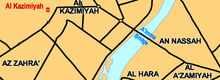 Al-Aaimmah bridge area.PNG