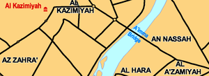 2005 Al-Aaimmah bridge stampede - Image: Al Aaimmah bridge area