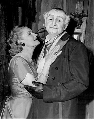 Linda Watkins - Watkins in a guest appearance on TV's The Munsters with Al Lewis (1964)