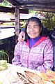 Alacaluf woman, Villa Puerto Edén, Chile - 20060111.jpg