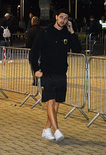 Christos Albanis Greek professional footballer