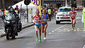 Albina Mayorova and Valeria Straneo - 2012 Olympic Womens Marathon.jpg
