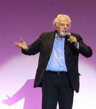 Alejandro Jodorowsky - Jodorowsky (age 77) in Sitges, Spain (2006).