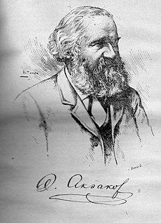 Alexander Aksakov author, translator, journalist, editor, psychic researcher
