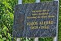 Alfréd Hajós memorial plaque in Sashalom.jpg