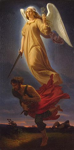 Nemesis, by Alfred Rethel (1837)