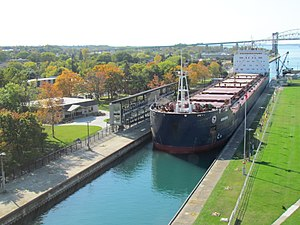 Algoma Guardian enters the MacArthur Lock.jpg