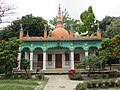 Aliswar Shantiniketan Buddhist Temple at Laksam, Comilla, 19 April 2017 01.jpg