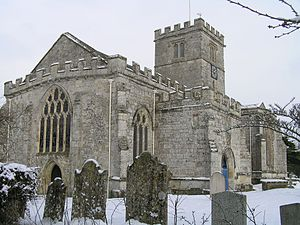 Broad Chalke - All Saints' Church