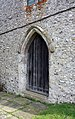 All Saints, Petham, Kent - West door - geograph.org.uk - 1736809.jpg