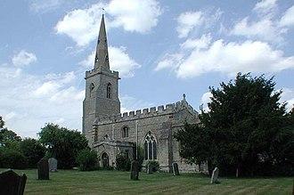 Tilbrook - Image: All Saints, Tilbrook, Cambridgeshire geograph.org.uk 380796