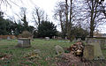 All Saints Church at Epping Upland - graveyard at the south.jpg