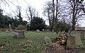 All Saints Church at Epping Upland - graveyard at the south.jpg