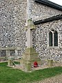 All Saints church in Alburgh - war memorial - geograph.org.uk - 1770498.jpg