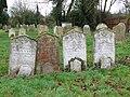 All Saints church in Dickleburgh - churchyard - geograph.org.uk - 1774157.jpg