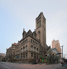 Allegheny County Courthouse in Pittsburgh, Pennsylvania