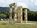 Allievi dell'istituto statale d'arte di sesto fiorentino, monumento il futuro e la memoria, dedicato alle vittime del nazifascismo, a.s. 1994-95, eretto nel 1998, 03.jpg