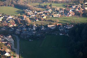 Allonzier-la-Caille - An aerial view of Allonzier-la-Caille
